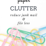 Reduce Paper Clutter