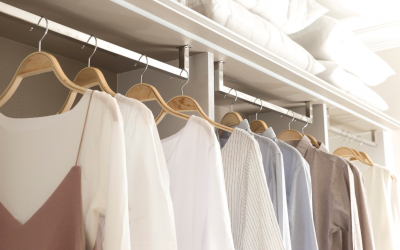 The Best Way to Organize Clothes in a Small Closet
