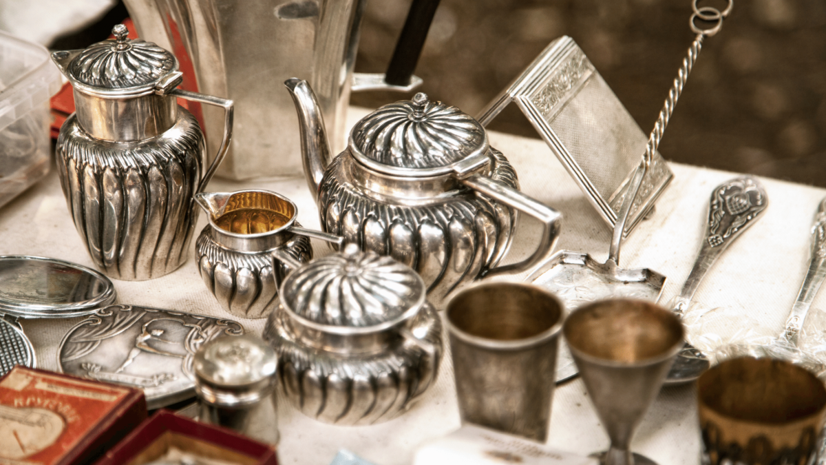 valuables from a hoarded home