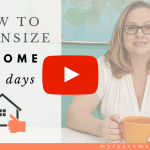 How to Downsize a Home in 5 Days