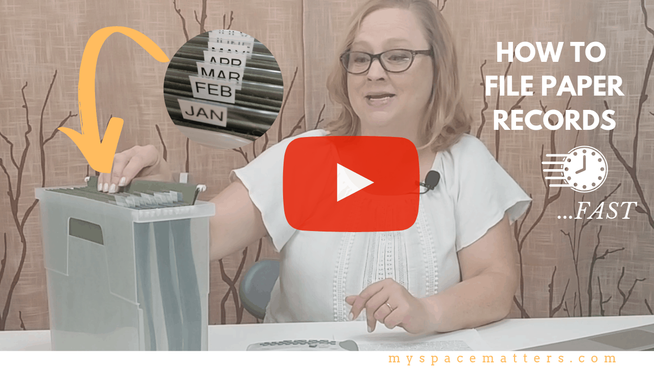 How to Quickly File Paper Records
