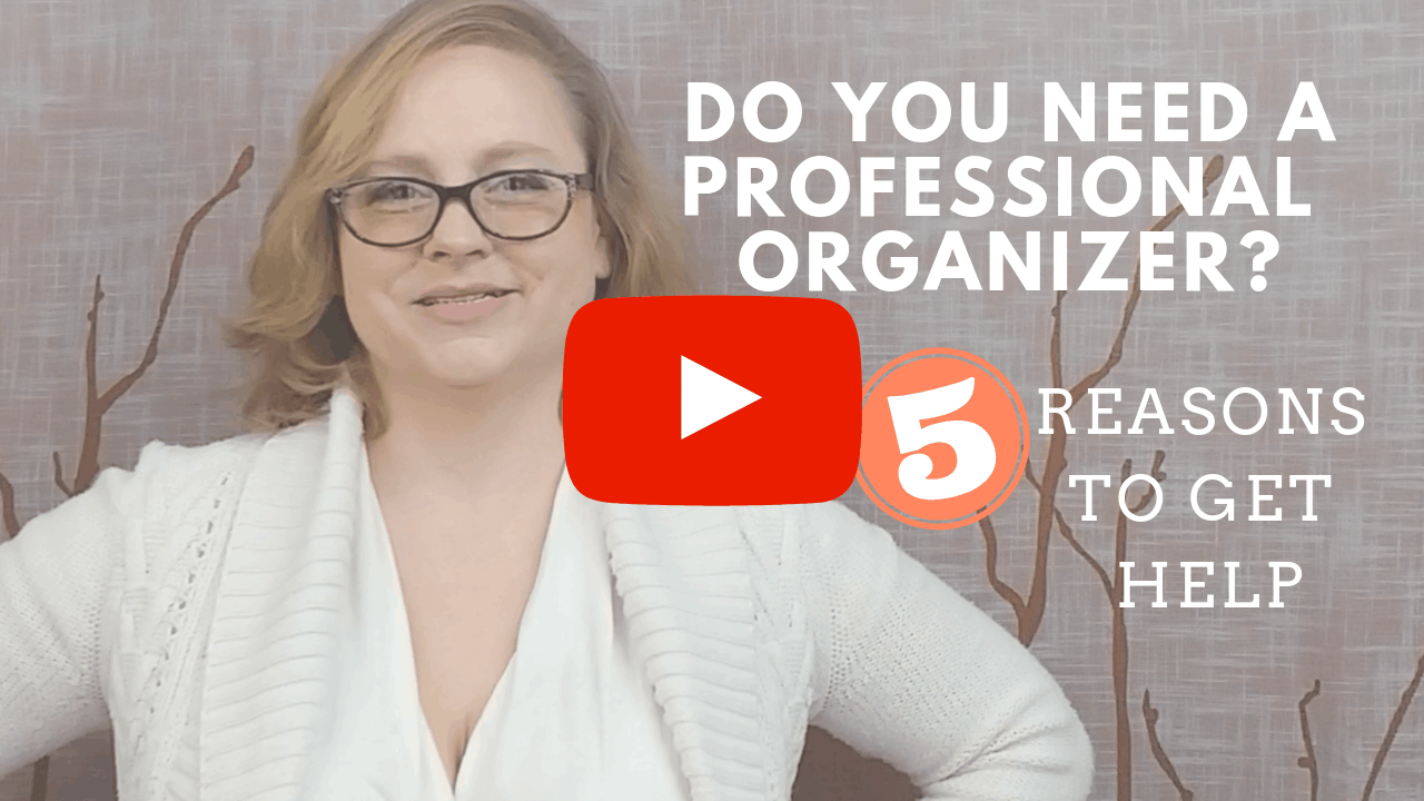 5 Reasons Why you Should Hire a Professional Organizer