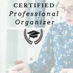 Become a Certified Professional Organizer