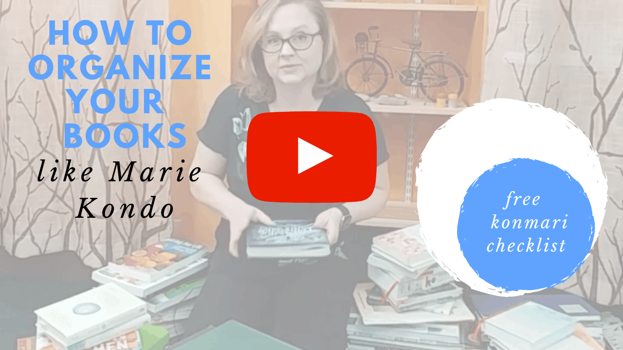 How To Declutter Books With The KonMari Method